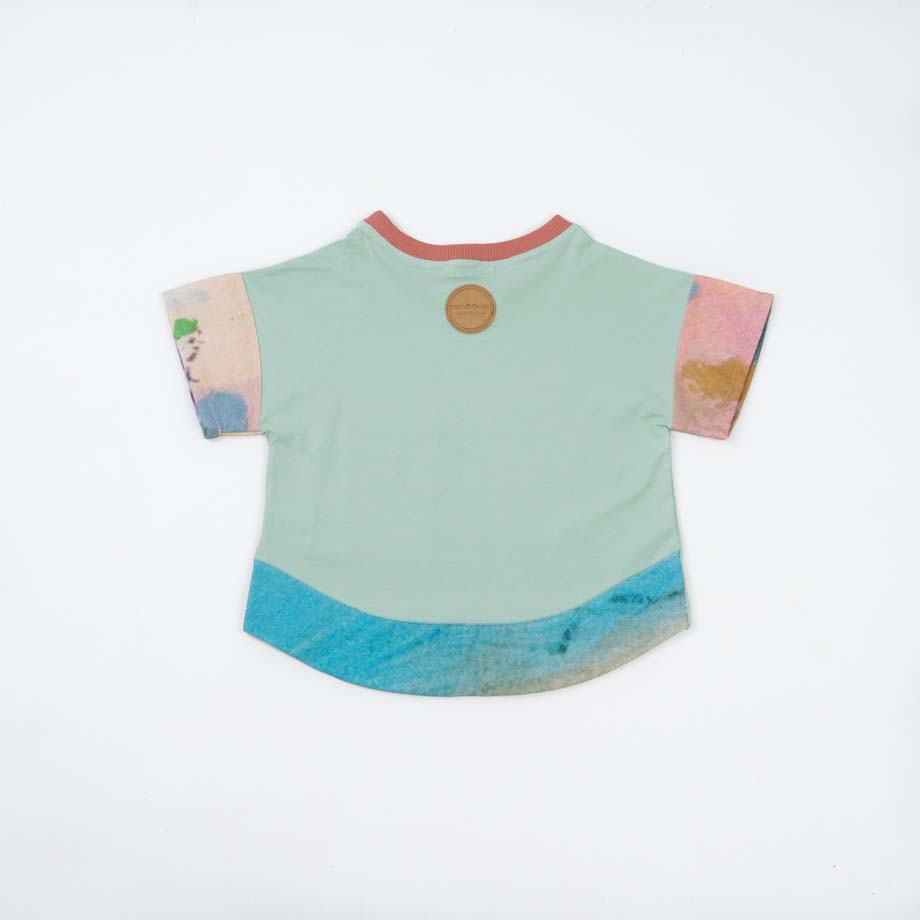 mimOOkids Tops Oversize Shirt Mint Colours Arts (4)