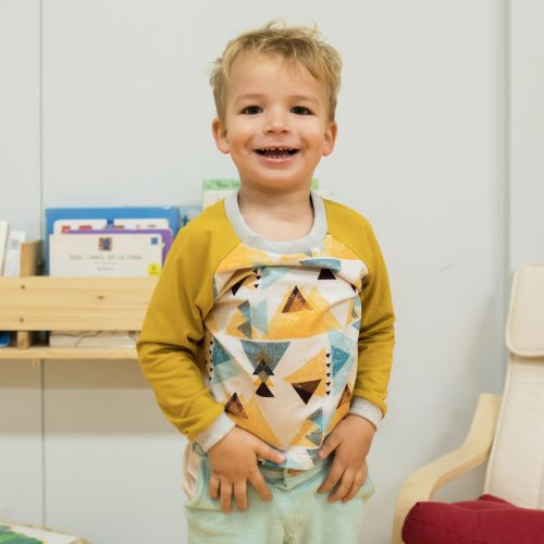 mimOOkids Tops Shirt Easy-Dressing Triangles