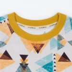 mimOOkids Tops Shirt Short Sleeve Triangles (1)