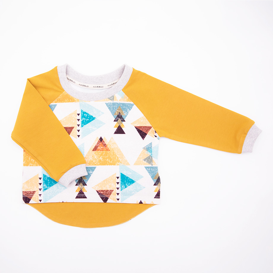 mimOOkids Tops Shirt easy-dressing triangles (2)