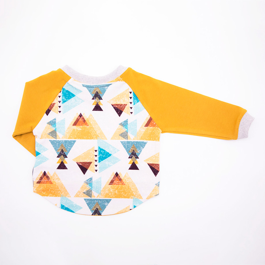 mimOOkids Tops Shirt easy-dressing triangles (3)