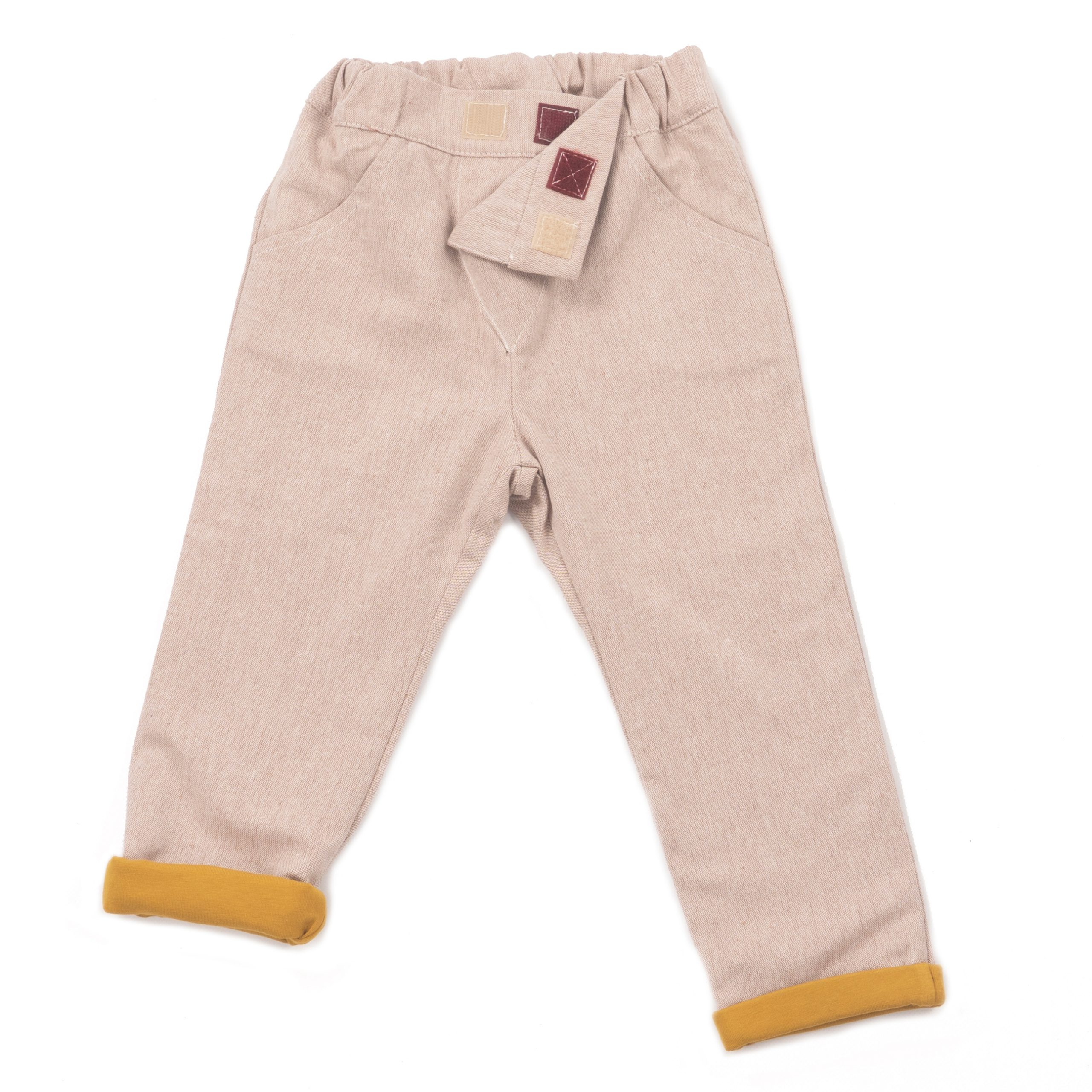 MIMOOKIDS LINED CLOSE ME PANT SAND (9)