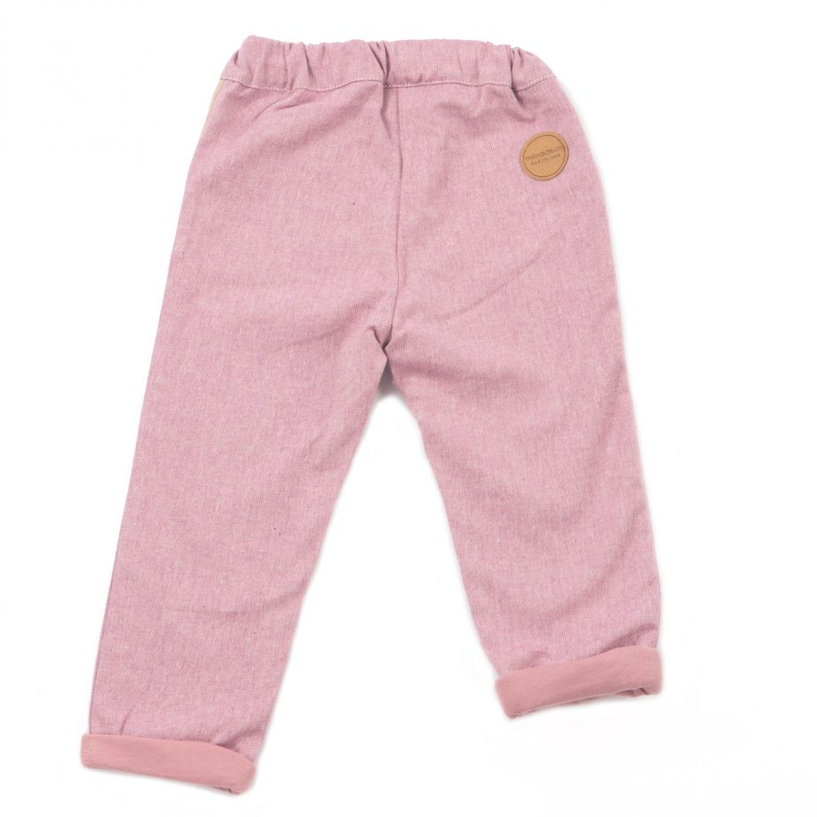 MIMOOKIDS - CLOSE-ME LINED PANTS - ROSE (6)