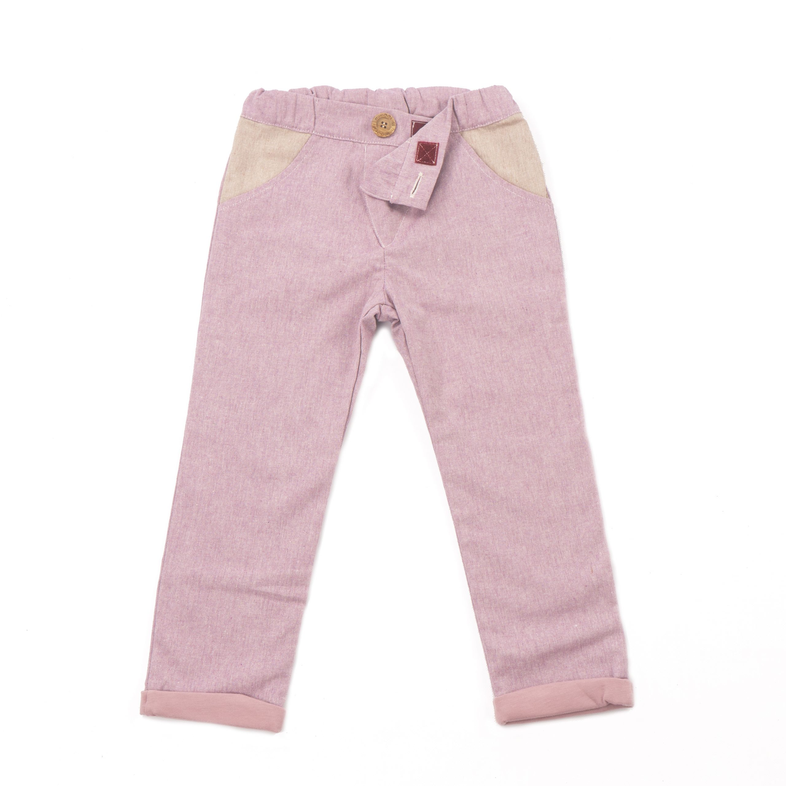 MIMOOKIDS - CLOSE-ME LINED PANTS - ROSE (8)