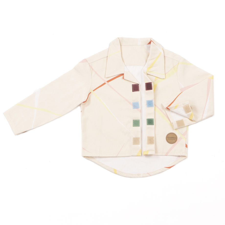MIMOOKIDS - CLOSE-ME SHIRT - CIRRUS (12)