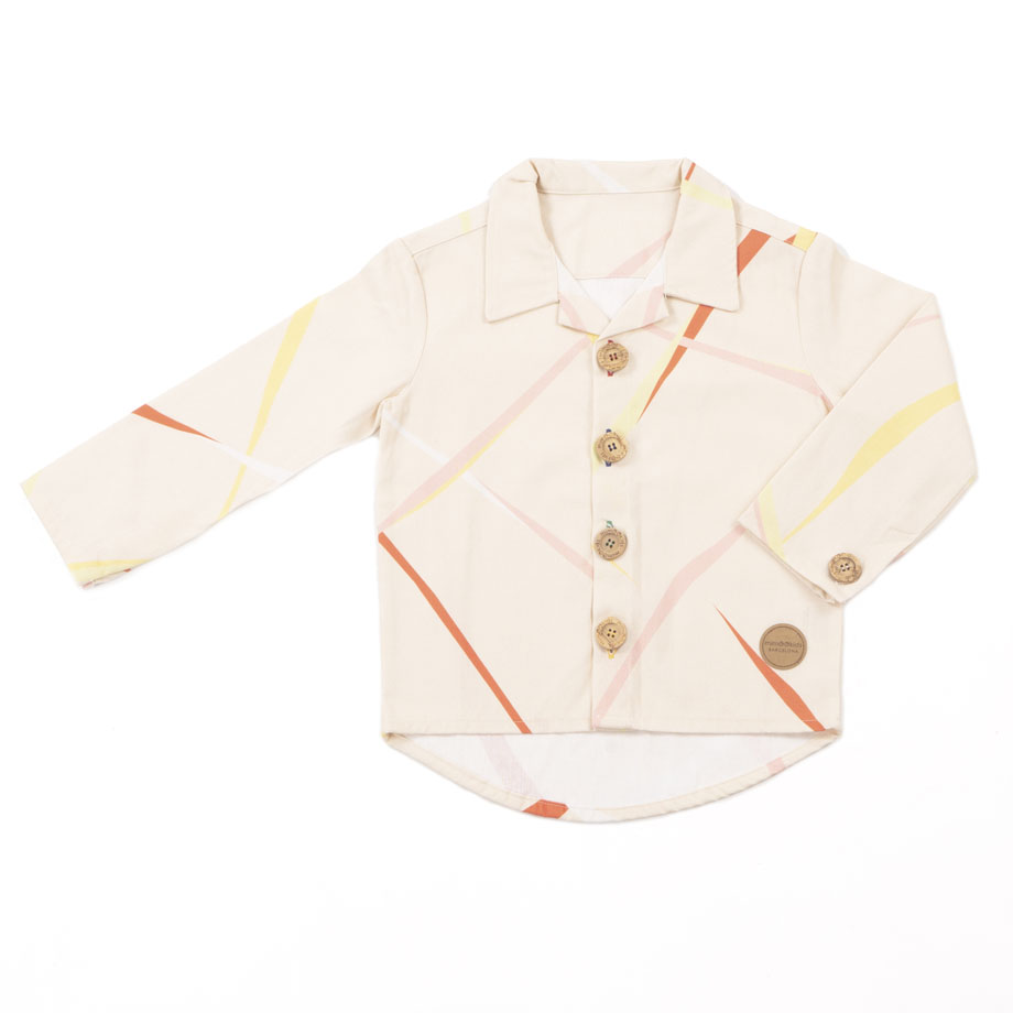 MIMOOKIDS - CLOSE-ME SHIRT - CIRRUS (16)