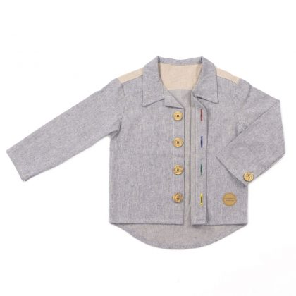 MIMOOKIDS CLOSE-ME SHIRT DENIM (7)