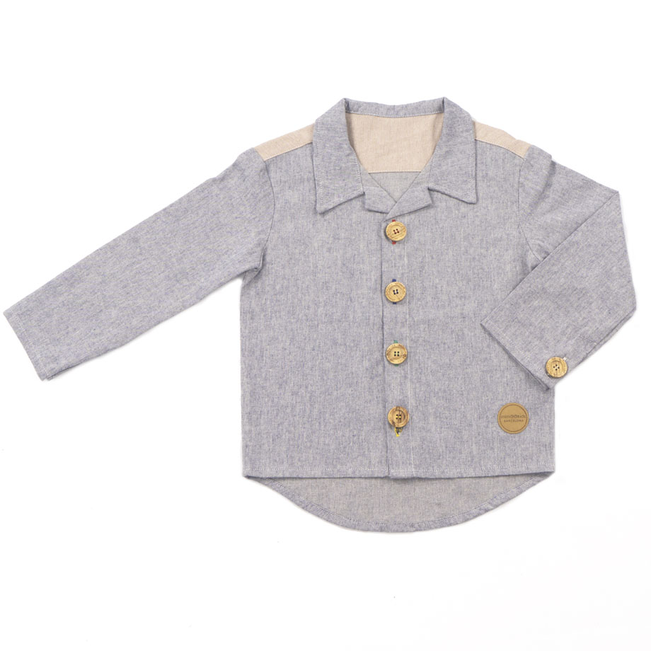 MIMOOKIDS CLOSE-ME SHIRT DENIM (8)