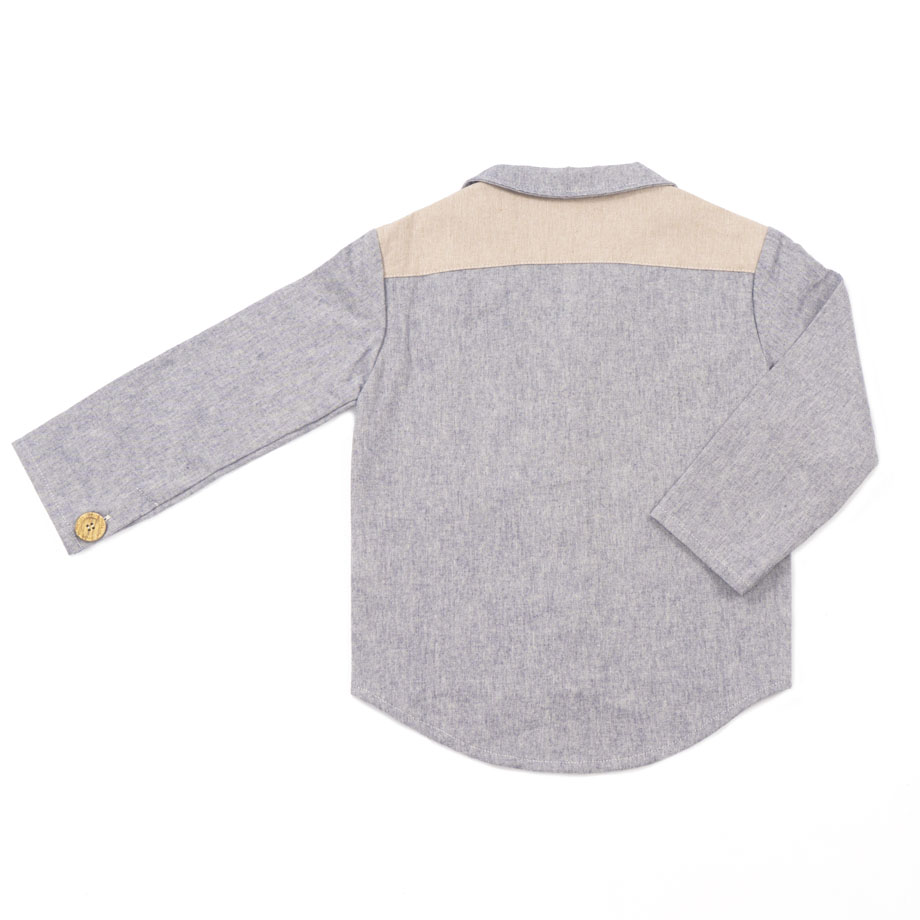 MIMOOKIDS CLOSE-ME SHIRT DENIM (9)