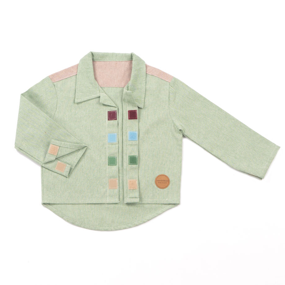 MIMOOKIDS CLOSE-ME SHIRT PISTACHO (4)