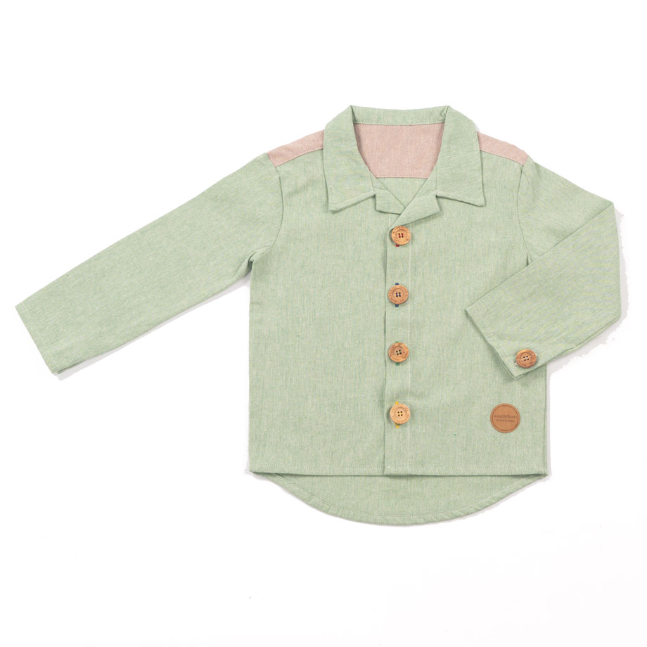 MIMOOKIDS CLOSE-ME SHIRT PISTACHO (7)