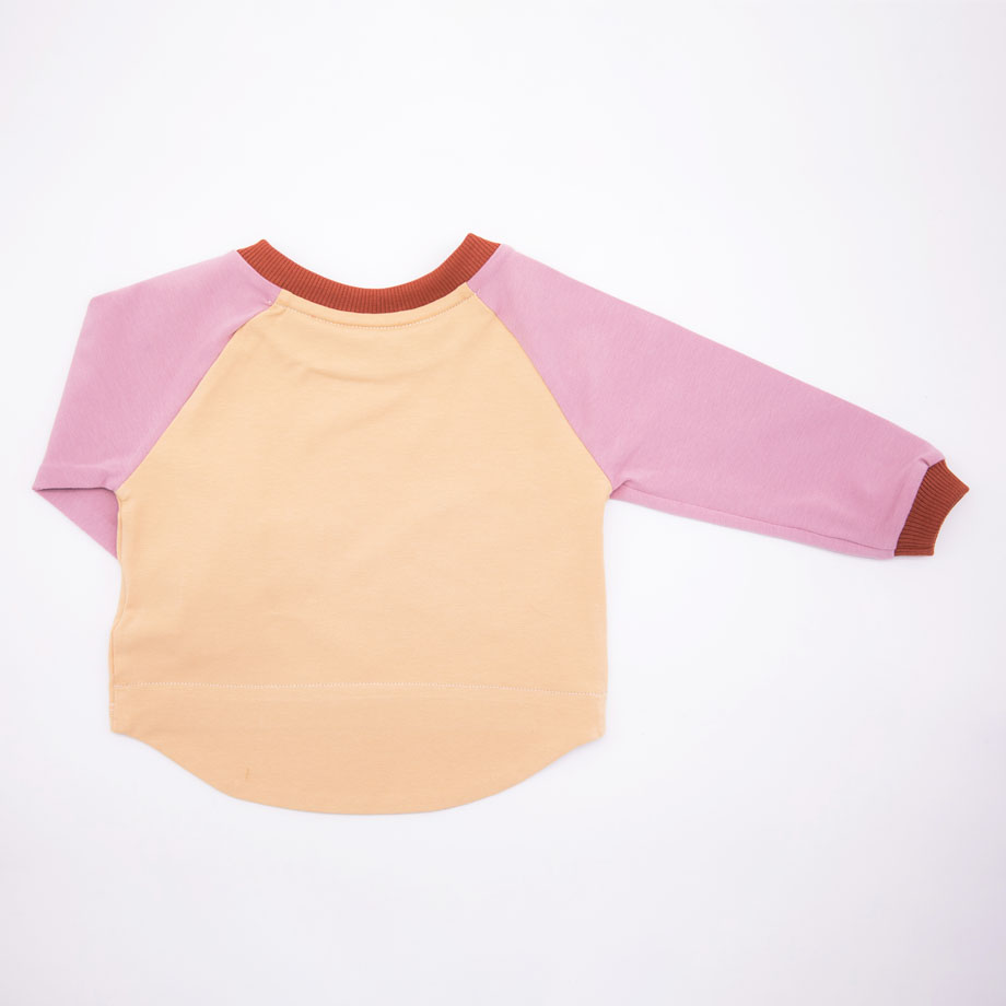 MIMOOKIDS- EASY DRESSIN SHIRT ROSE-SAND (4)