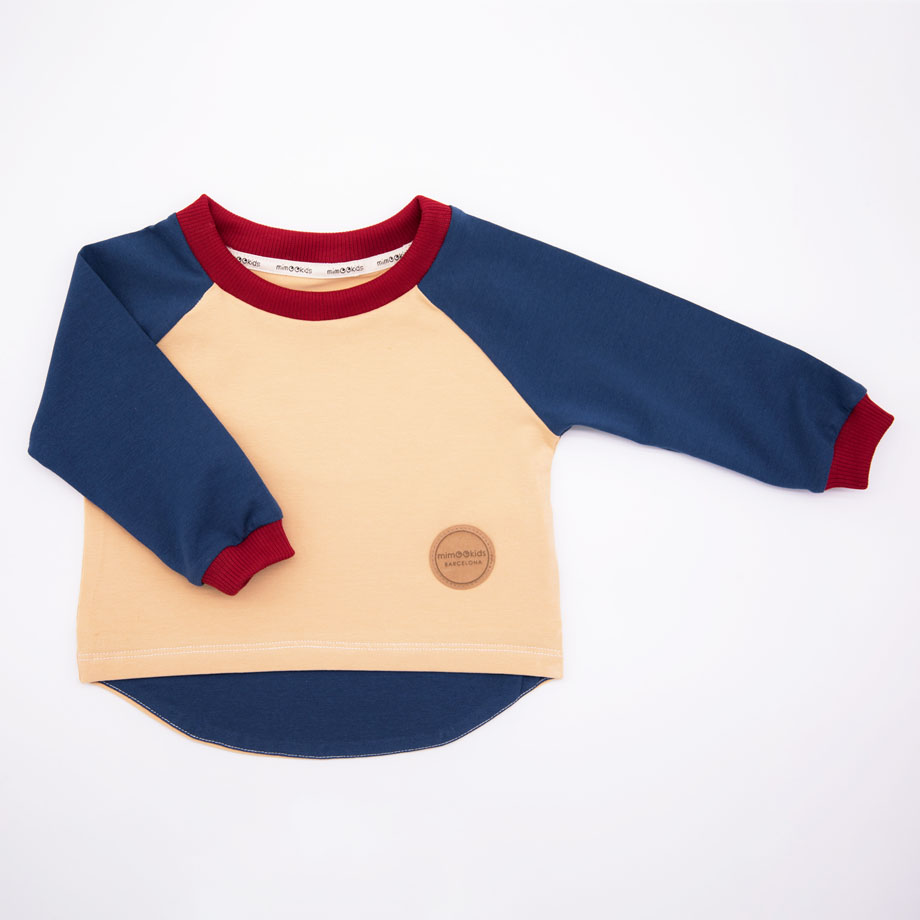 MIMOOKIDS - EASY DRESSING PETROL-SAND (1)