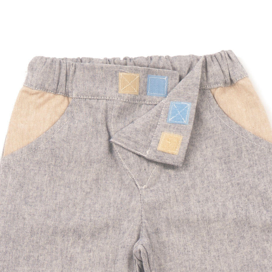 MIMOOKIDS - LINED CLOSE-ME PANT DENIM PETROL (5)