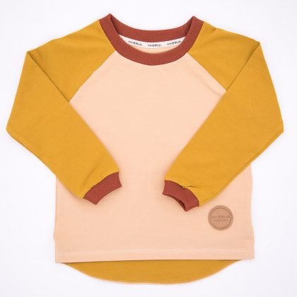 mimOOkids Easy-dressing Shirt Honey-Sand-Cinnamon (1)