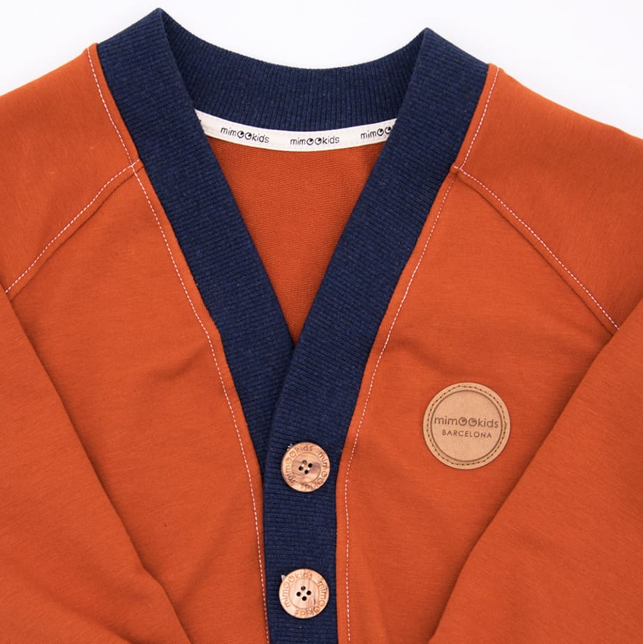 CLOSE ME CARDIGAN - CINNAMON - NAVY (3)