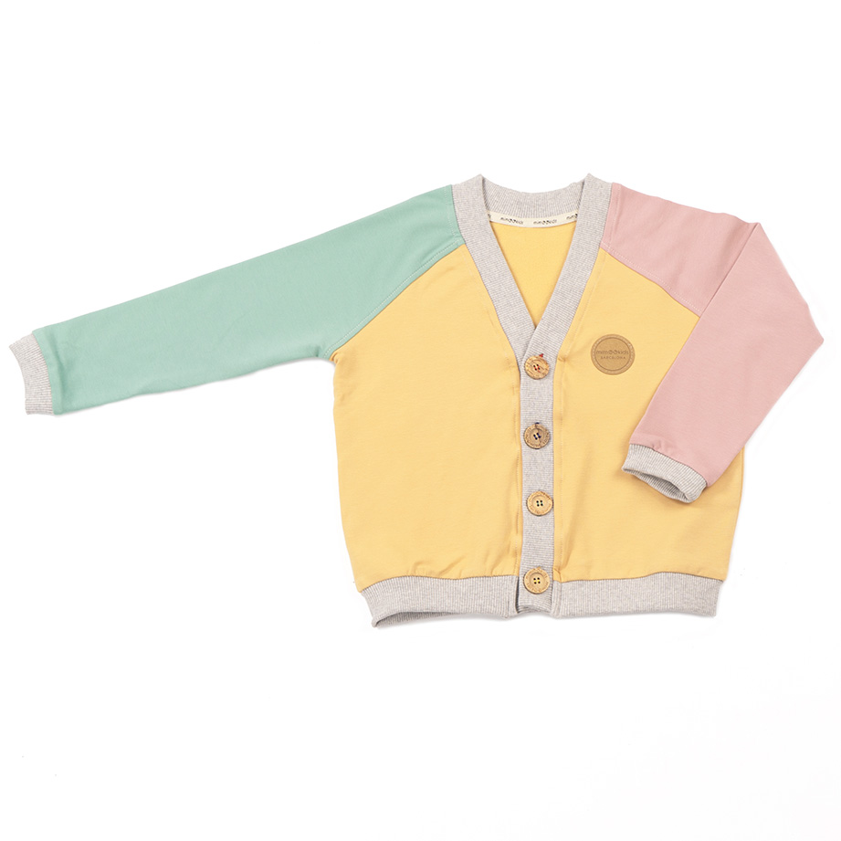 MIMOOKIDS - CLOSE-ME CARDIGAN-APPLE-SAND-ROSE (12)