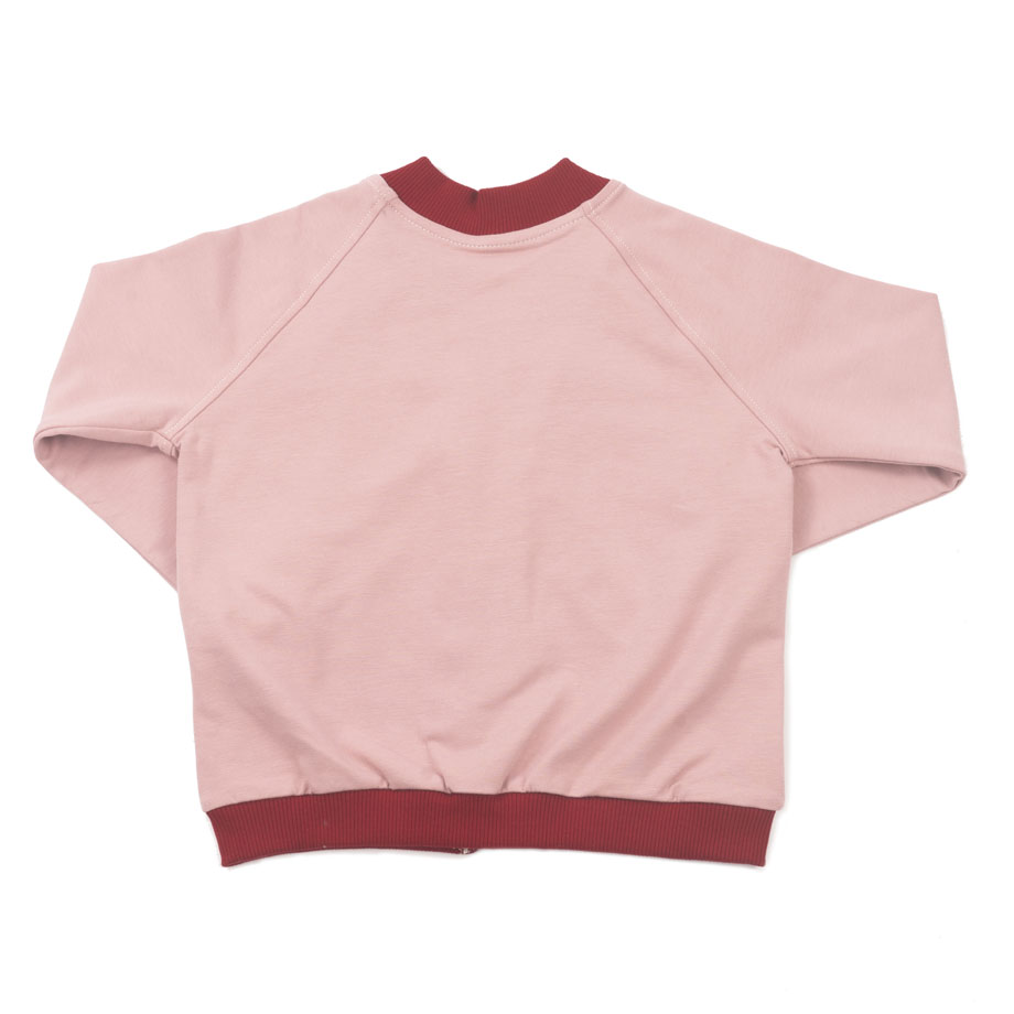 MIMOOKIDS - CLOSE-ME CARDIGAN ROSE-CHILI (2)