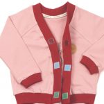 MIMOOKIDS - CLOSE-ME CARDIGAN ROSE-CHILI (4)