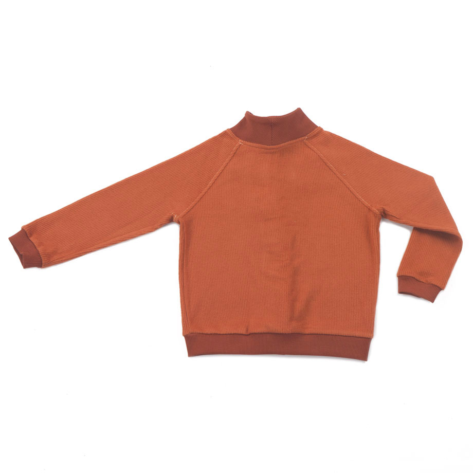 MIMOOKIDS - CLOSE-ME CARDIGAN TURTLE NECK - CARAMEL (11