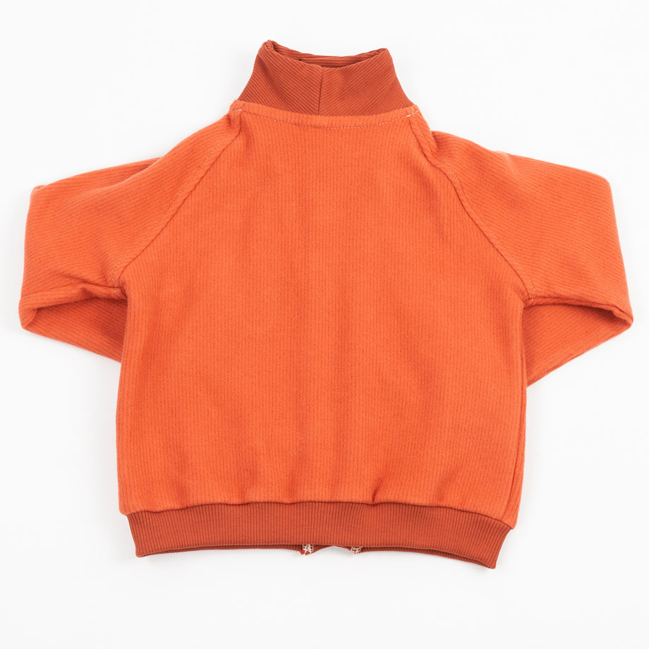MIMOOKIDS - CLOSE-ME CARDIGAN TURTLE NECK - CARAMEL (11)
