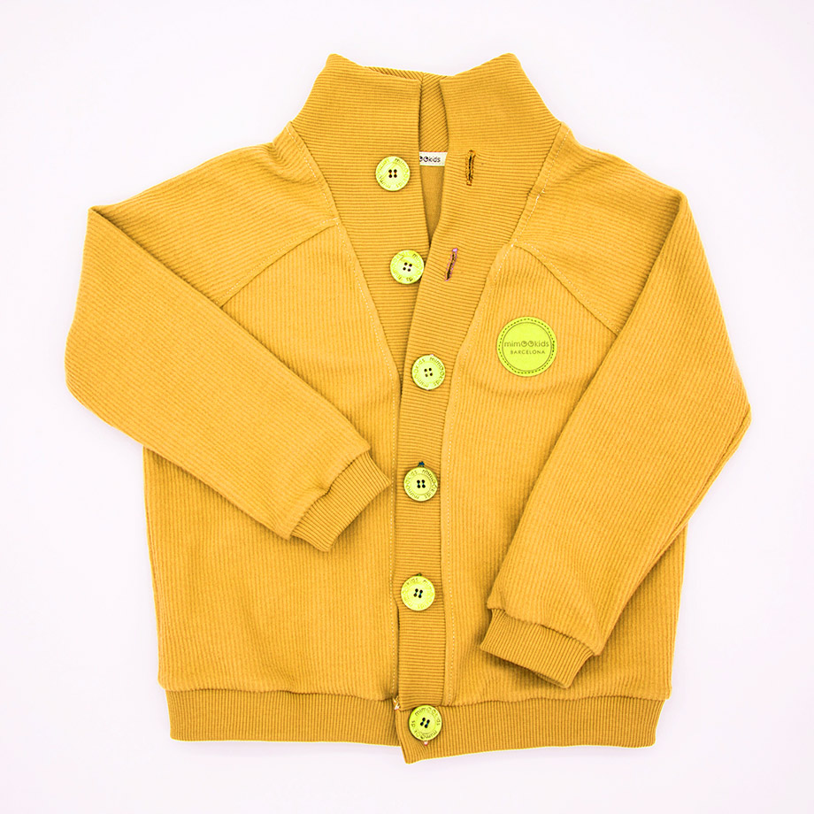 MIMOOKIDS-CLOSE ME CARDIGAN - HONEY