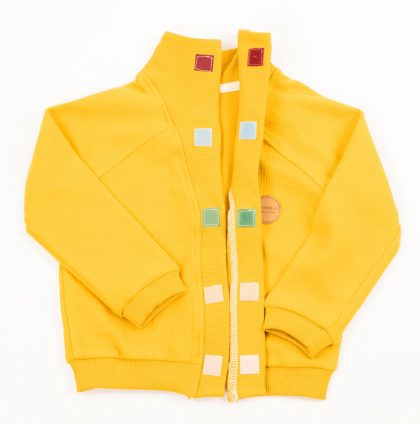MIMOOKIDS-CLOSE ME CARDIGAN V NECK - HONEY) (5)