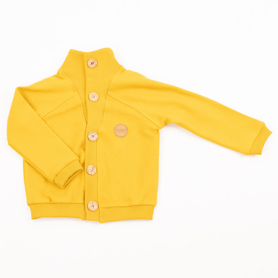 MIMOOKIDS-CLOSE ME CARDIGAN V NECK - HONEY (8)