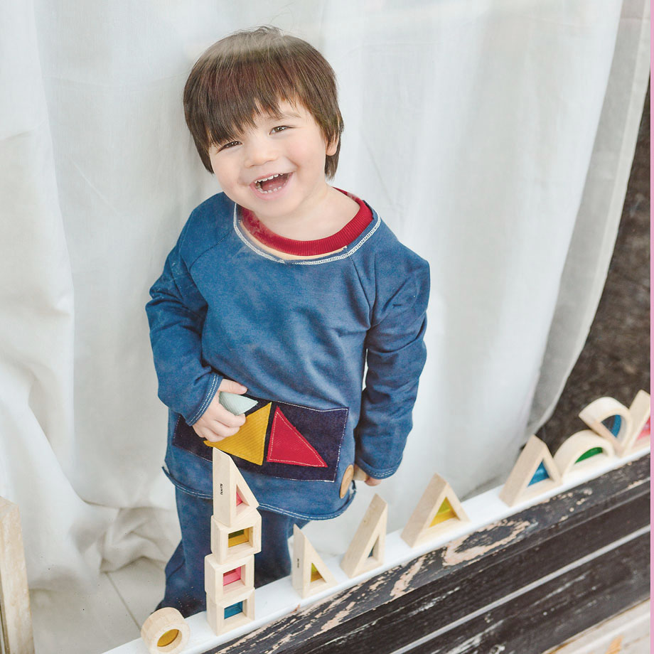 MIMOOKIDS -PLAY WITH ME SWEATER PETROL (2)