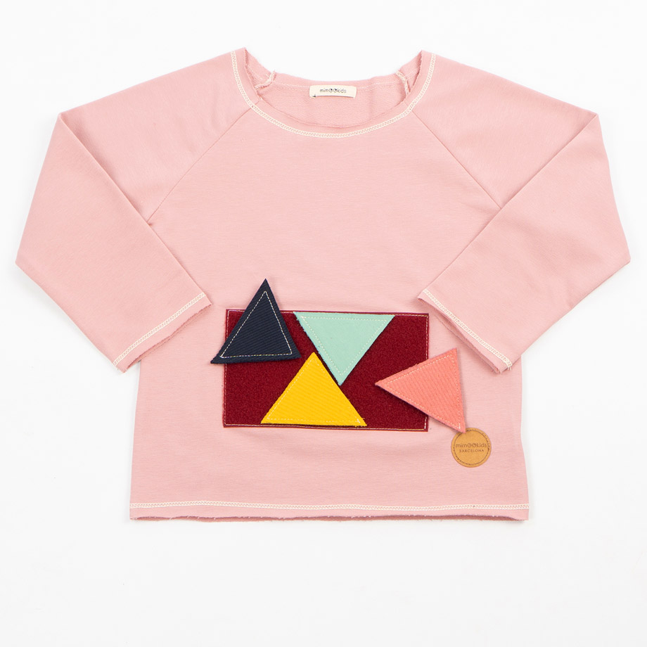 MIMOOKIDS - PLAY WITH ME SWEATER- ROSE (2)
