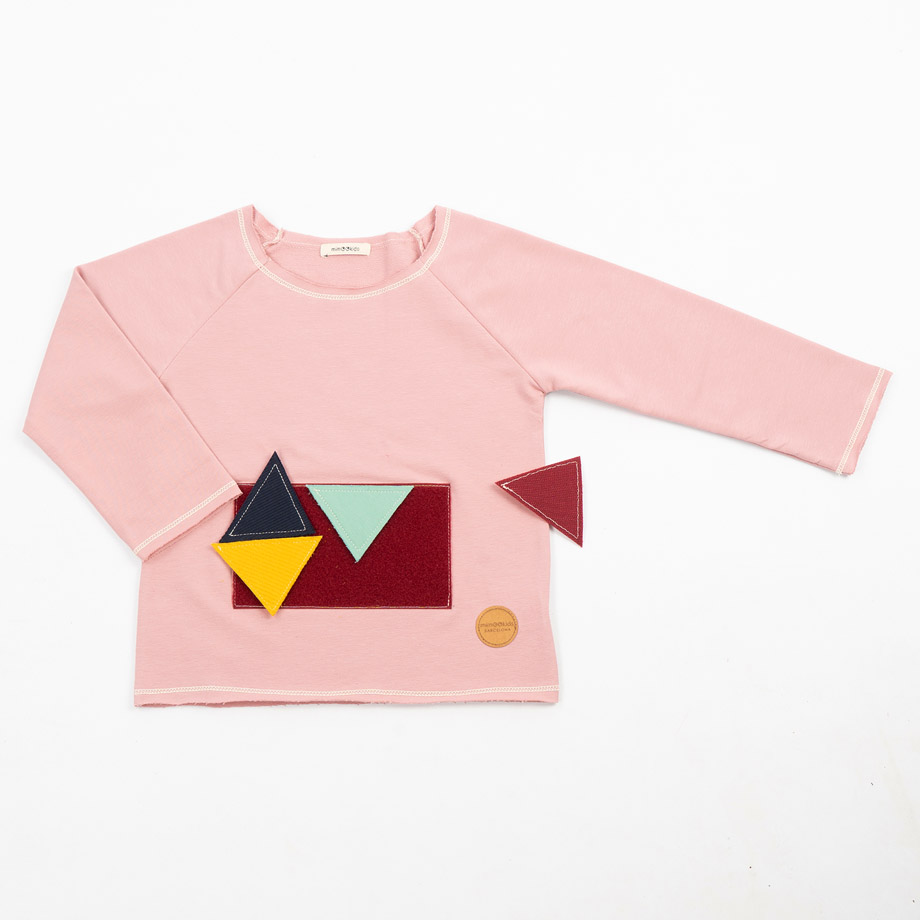 MIMOOKIDS - PLAY WITH ME SWEATER- ROSE (3)