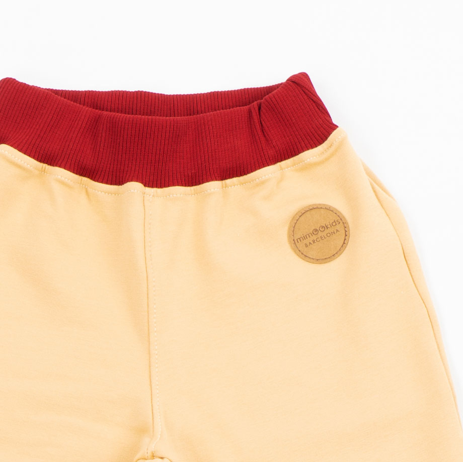 MIMOOKIDS - PULL-M-UP PANTS - SAND-CHILI (10)