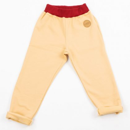 MIMOOKIDS - PULL-M-UP PANTS - SAND-CHILI (9)