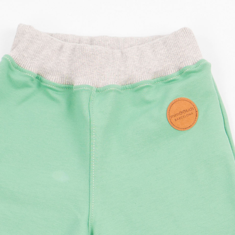 MIMOOKIDS -PULL-ME-UP PANT - APPLE GREY (4)
