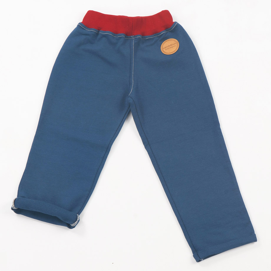 MIMOOKIDS - PULL-ME-UP PANT PETROL_2