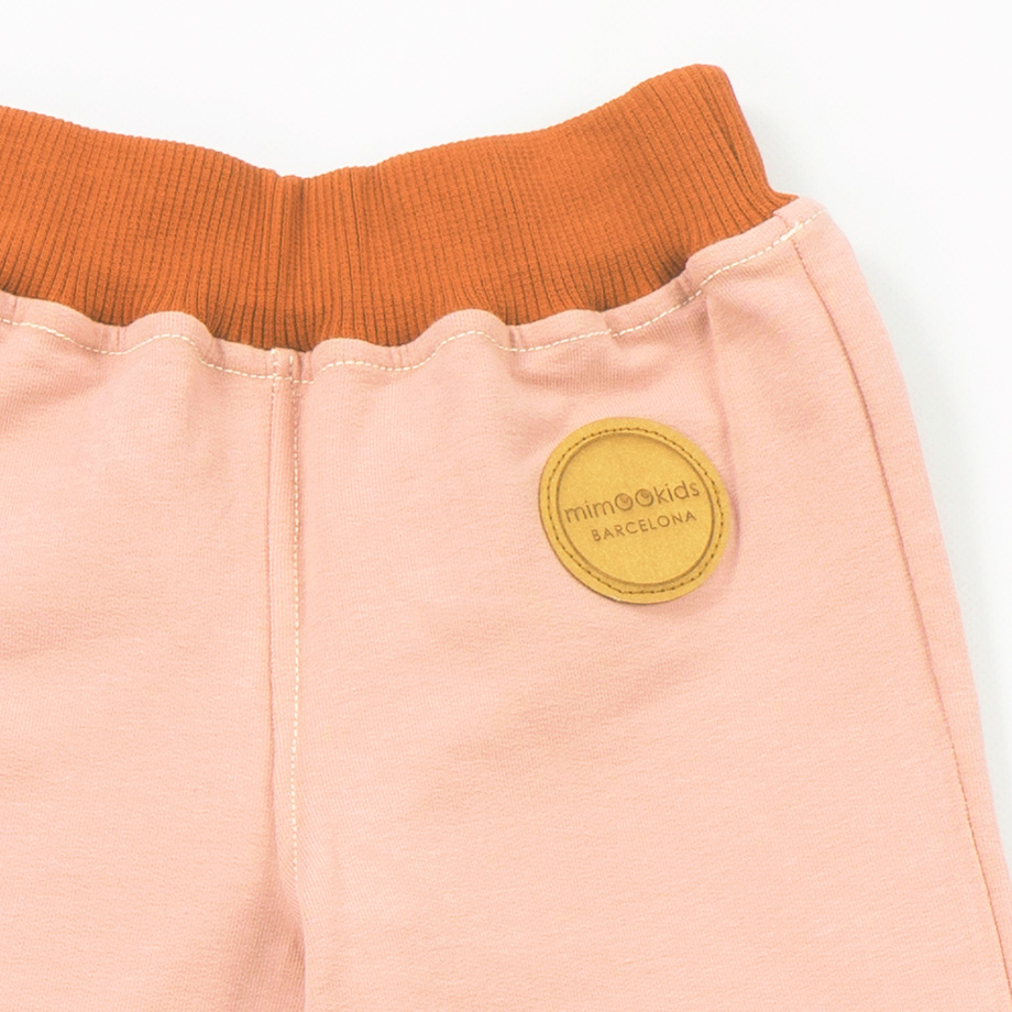 MIMOOKIDS PULL-ME-UP PANT ROSE (4)