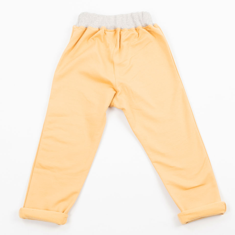 MIMOOKIDS - PULL-ME-UP PANTS - SAND-APPLE-ROSE (6)
