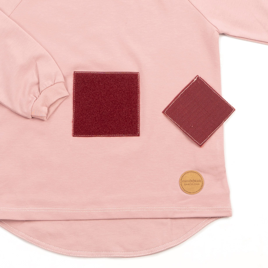 MIMOOKIDS - PLAY WITH ME TURTLE NECK SHIRT-ROSE (3)