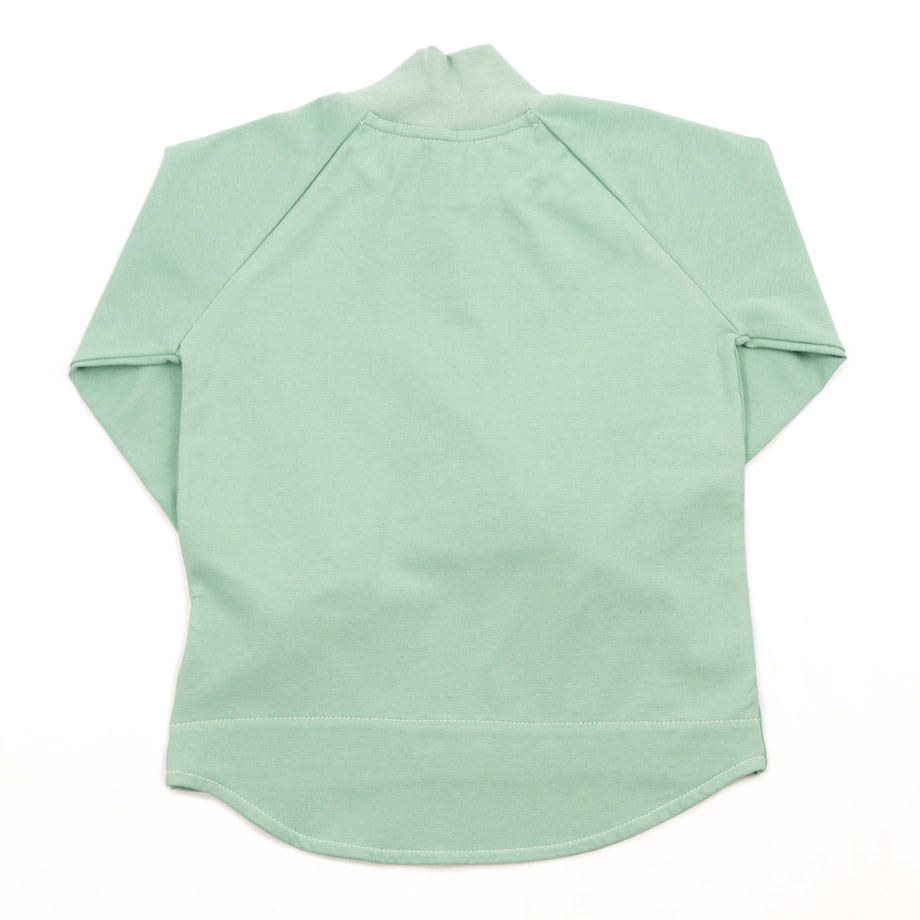 MIMOOKIDS TURTLE NECK PLAY-WITH-ME SHIRT APPLE (5)