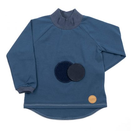 mimOOkids - Turtle Neck Play-with-me Petrol (2)